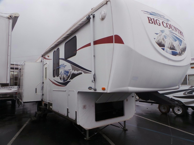 2008 HEARTLAND BIG COUNTRY 3250TS WILL OWNER FINANCE NO