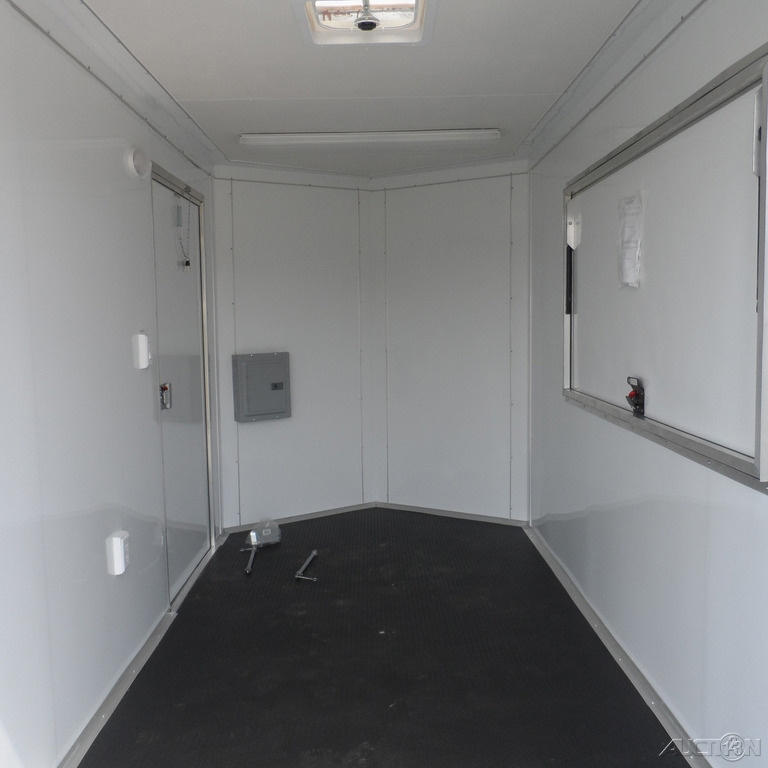 2020 Covered Wagon Concession 6x12 Enclosed Trailer 3x6