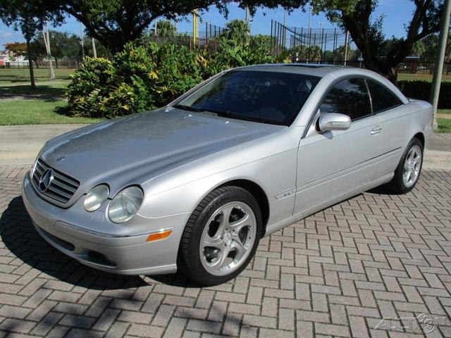 2001 Mercedes-Benz CL-Class CL600 photo