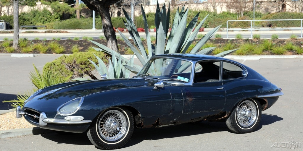 1967 Jaguar E-Type Series 1 Coupe: TIME CAPSULE 1967 ETYPE S1 FHC 1 DOCUMENTED OWNER STORED 42 YEARS 97K ORIG MILES